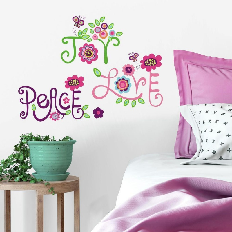 Love, Joy, Peace Wall Decals