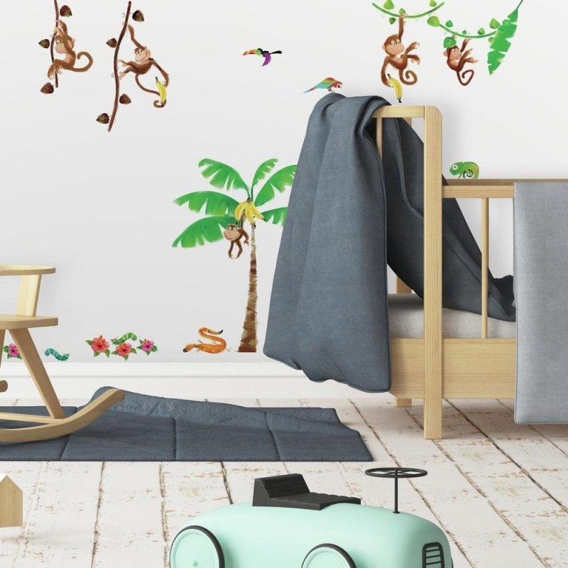 Monkey Business Wall Decal