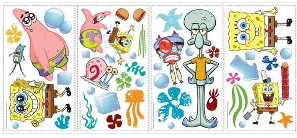 Spongebob Squarepants Wall Decals
