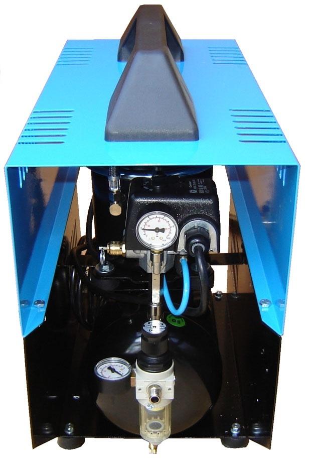 Silentaire Super Silent DR-500 Silent Running Airbrush Compressor, Portable Air Compressor