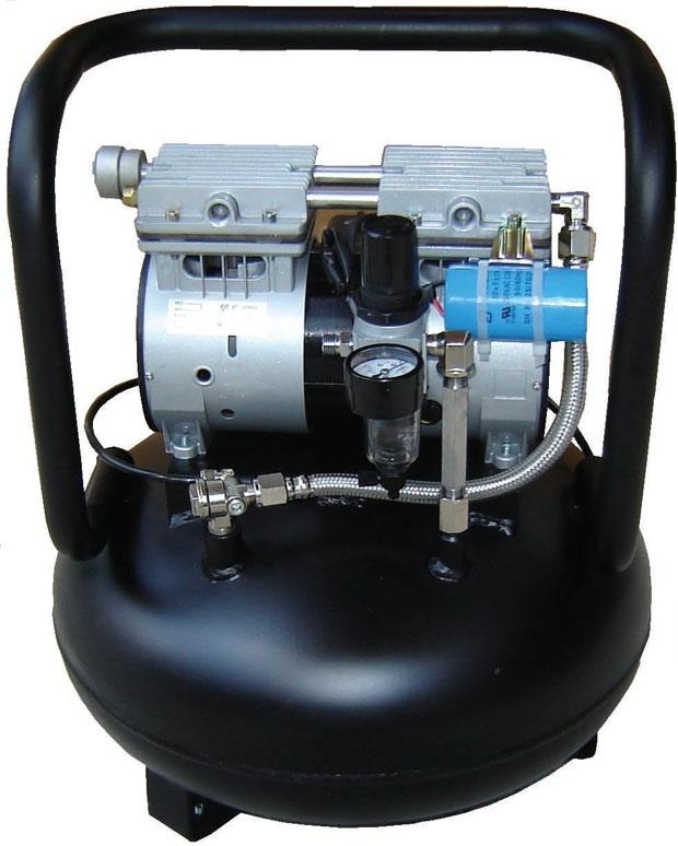 Silentaire AMP 50-24 5/8 HP Oil Free Quiet Compressor