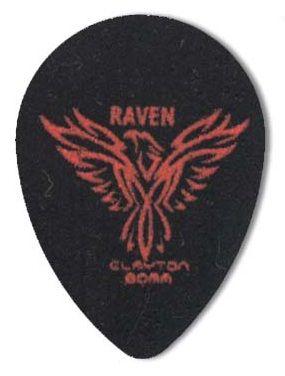 Steve Clayton™ Black Raven Pick: Small Teardrop