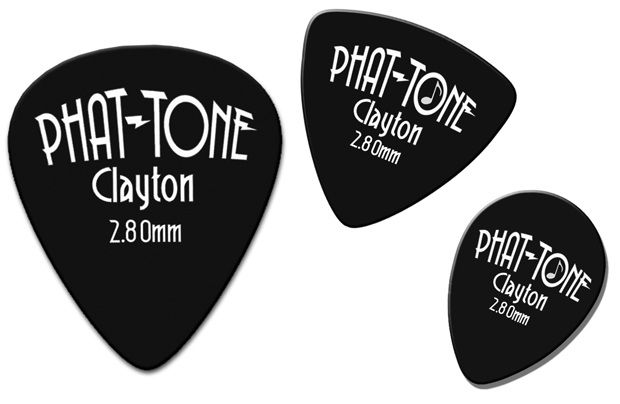 Steve Clayton™ Phat-Tone Pick: Standard, 3 Pieces
