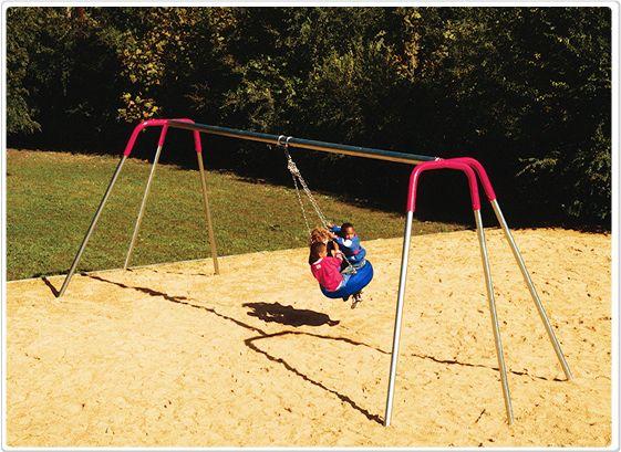 SportsPlay Heavy Duty Tripod Tire Swing - Playground Swing Set
