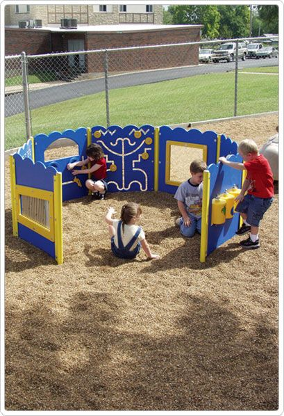 SportsPlay Tot Town Kiddie Korral - Contained Play Structures