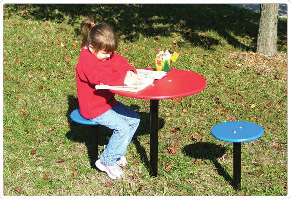 SportsPlay Outdoor Table & Chairs - Playground Equipment & Set