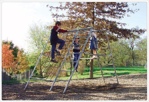 SportsPlay Permanent Net Climber - Climbing Playground Equipment