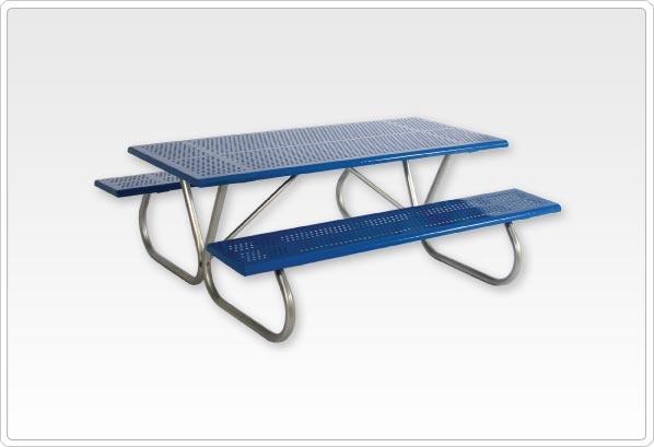 "SportsPlay Standard Rectangular Picnic Table Walk Through 2 3/8"""
