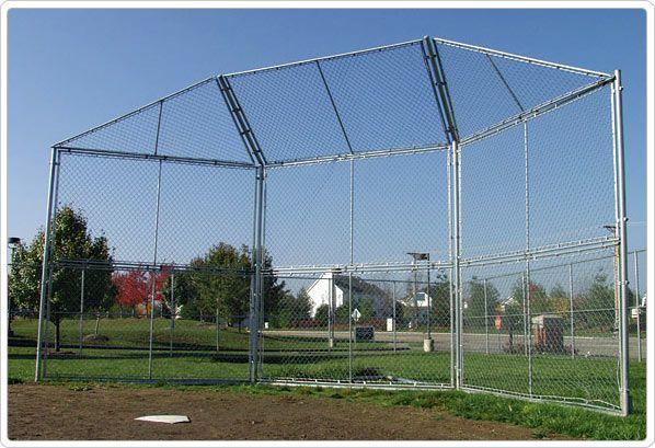 SportsPlay Baseball Backstop Prefabricated Panel - Baseball Equipment
