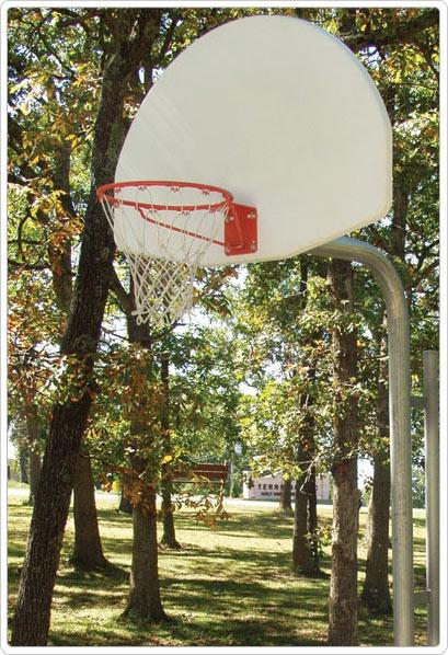 SportsPlay Reinforced Basketball Backstop Fan - Basketball Equipment