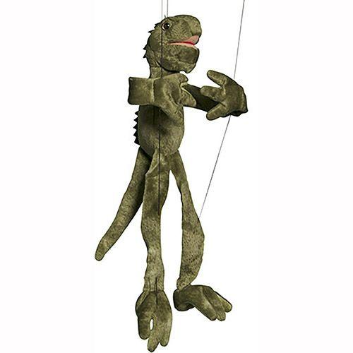 Sunny Toys Iguana Puppet Toy