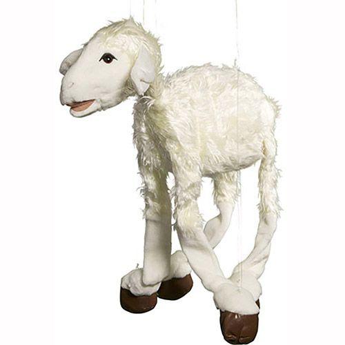 """38"""" Large White Sheep"""