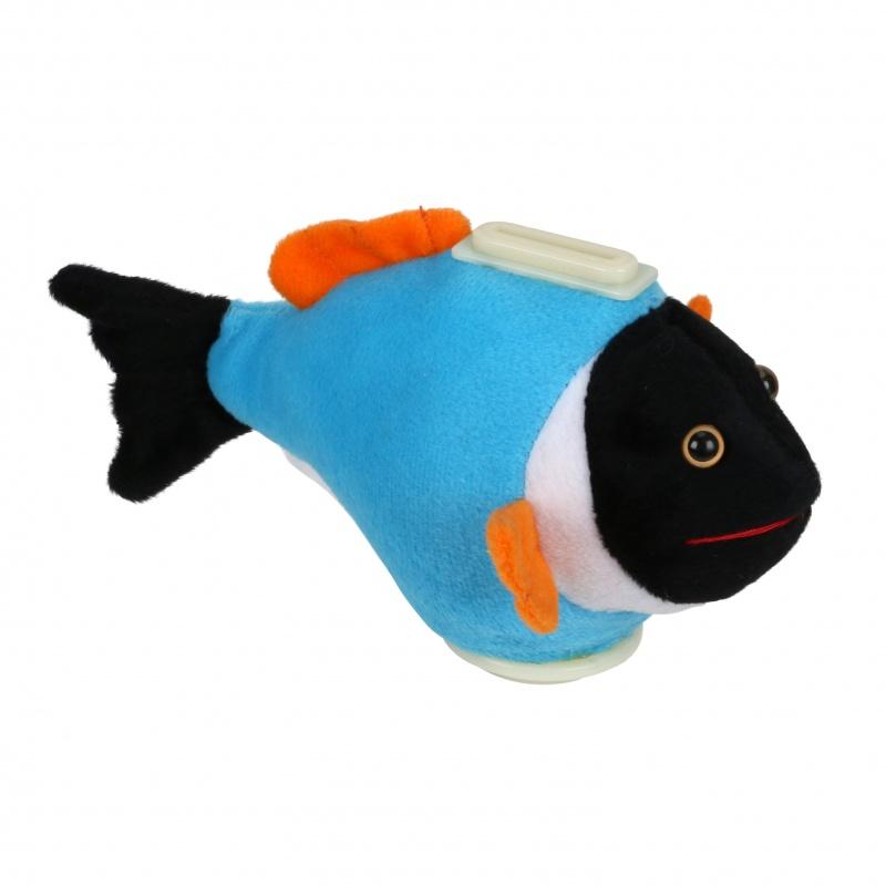 Piggy Bank Blue Power Fish