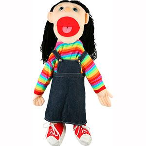 Sunny Toys Girl Puppets Collection