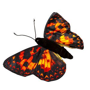 """8"""" Finger Butterfly (Painted l"""