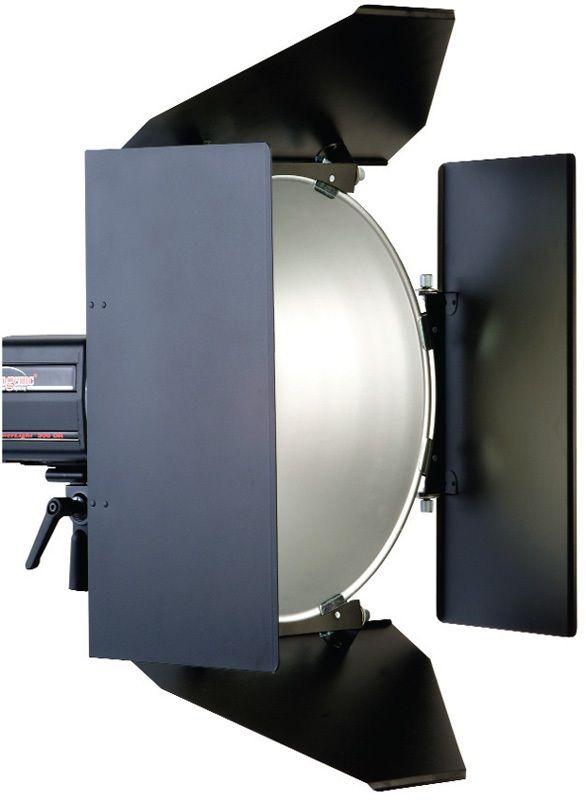 "Photogenic PL16BDK/916683 Four Panel Barndoor Set for 16"" Reflector"
