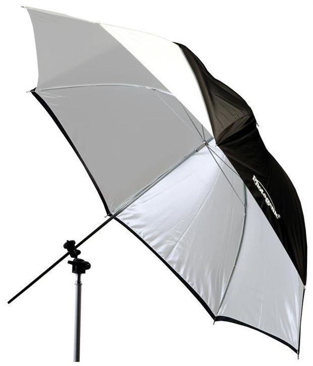 "Photogenic UW32/922396 Photogenic 32"" White Umbrella"