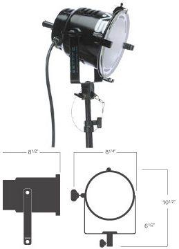 Smith-Victor 1000-Watt Focusing Light: Model # 720SG
