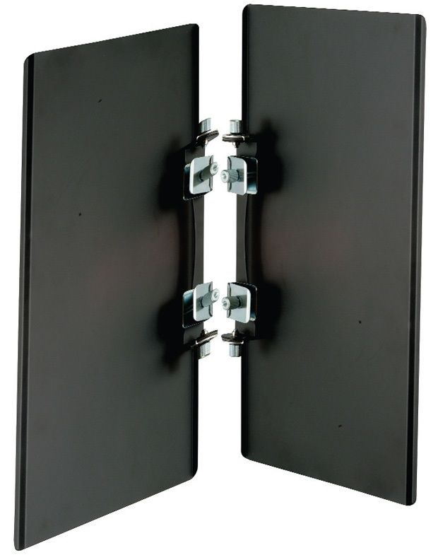"""Photogenic PL24BD/917147 Rectangle Two-Panel Barndoor Set for 24"""" Reflector"""