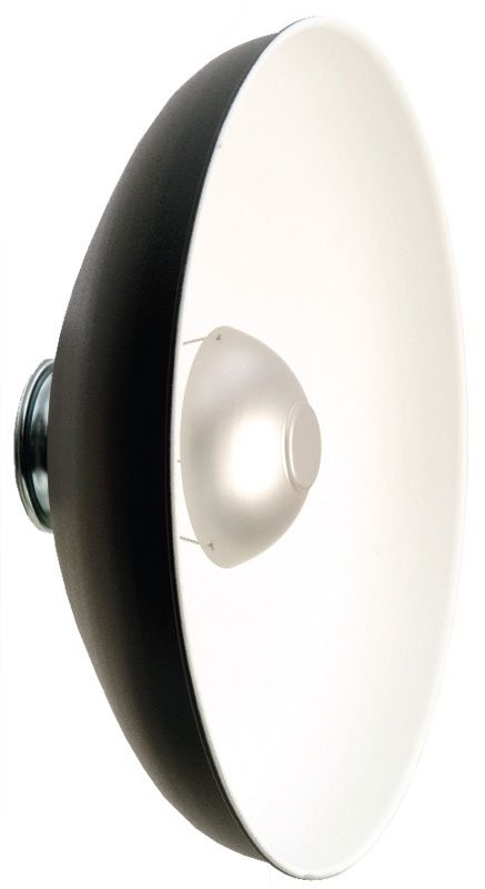 """Photogenic PL18R/916828 18 Inch"""" Glamour Reflector with Satin Interior"""
