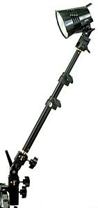 Smith-Victor Clamp-on Light Mount: Model # Light Arm & Clamp