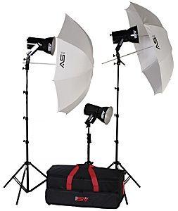 Smith-Victor KQ83/401452 3-Light 1800-watt Ultra Quartz Location Kit