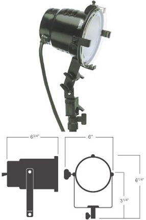 Smith-Victor 600-Watt Quartz Halogen Light: Model # 765UM