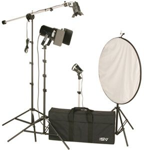Smith-Victor K64/401466 3-Light 1000-watt Controlled Quartz Portraiture Kit
