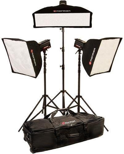 Norman MLKIT1400/812897 Three Light Three Softbox Kit