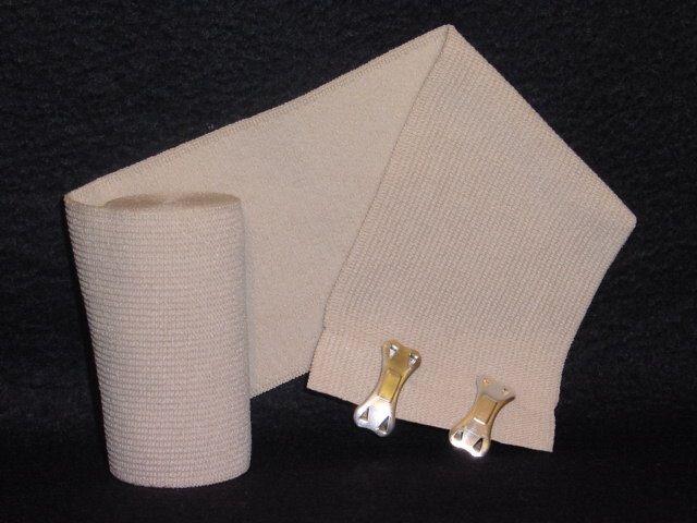 "Tetra Medical Supply Premium Knit Elastic Bandage: 6"" x 5yd, Pack of 12"