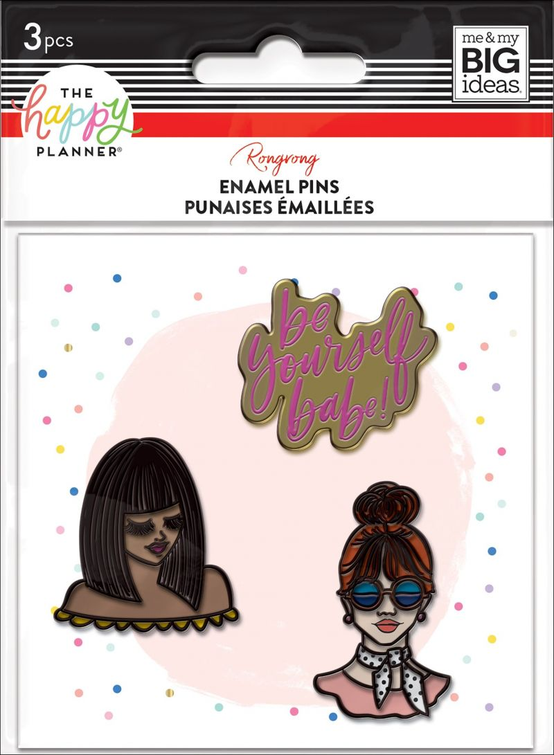 Enamel Pins - Rongrong - Be Yourself