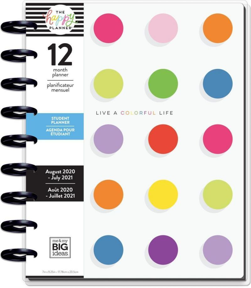Classic Student Happy Planner® - Colorful Life - 12 Months
