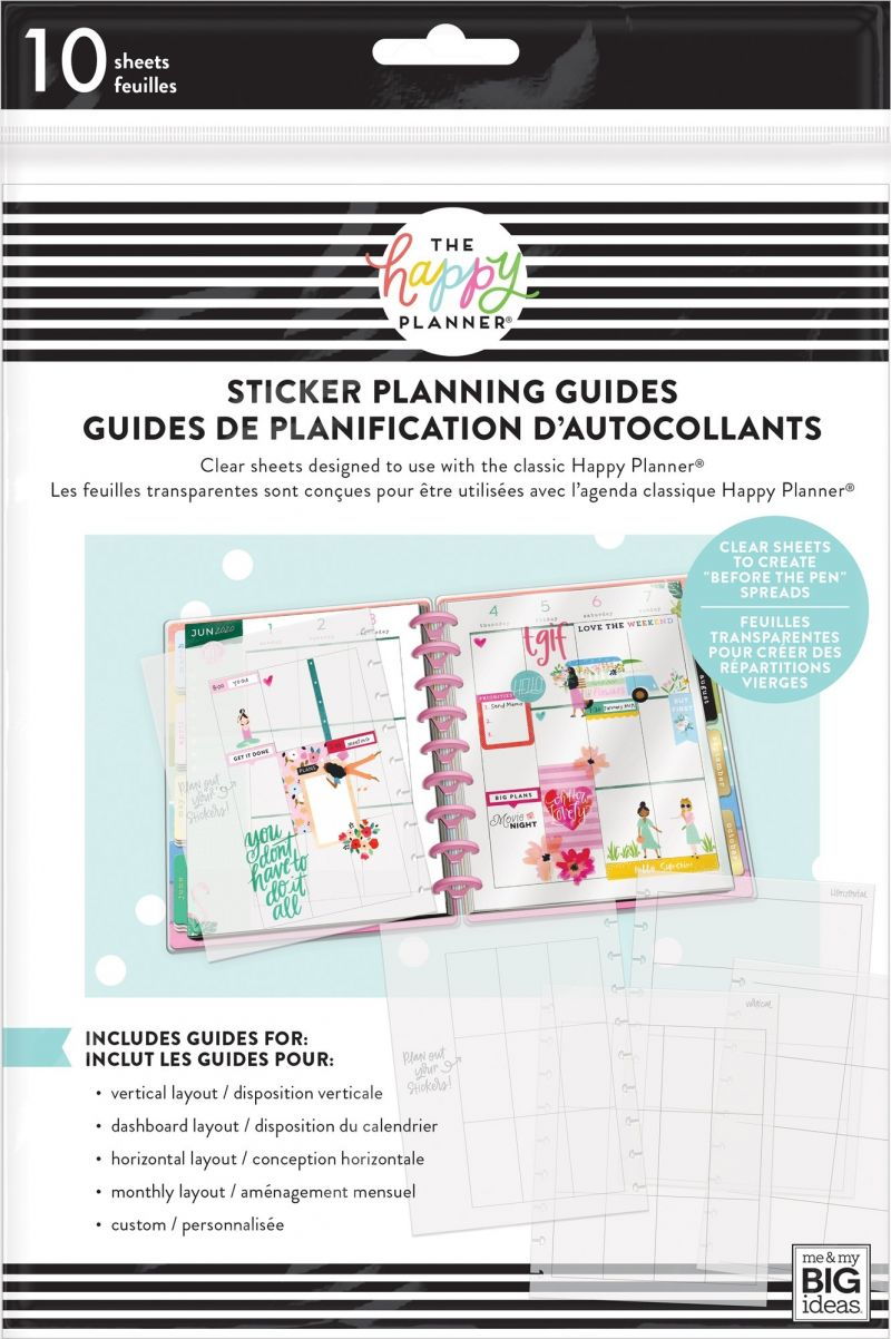 Classic - Clear Sticker Planning Guide