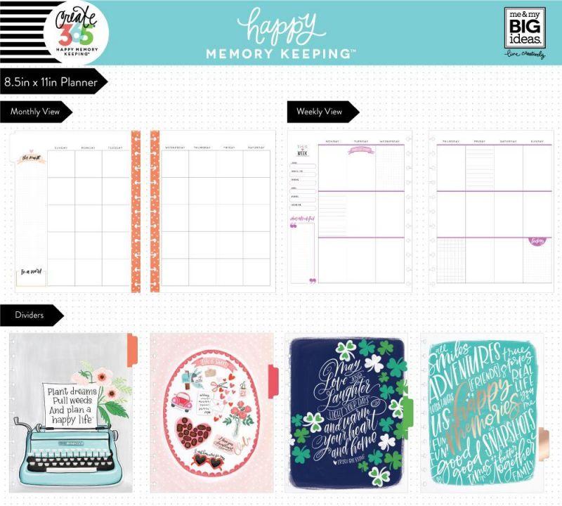 Deluxe Happy Memory Keeping™ Planners - Big - Painted Memories