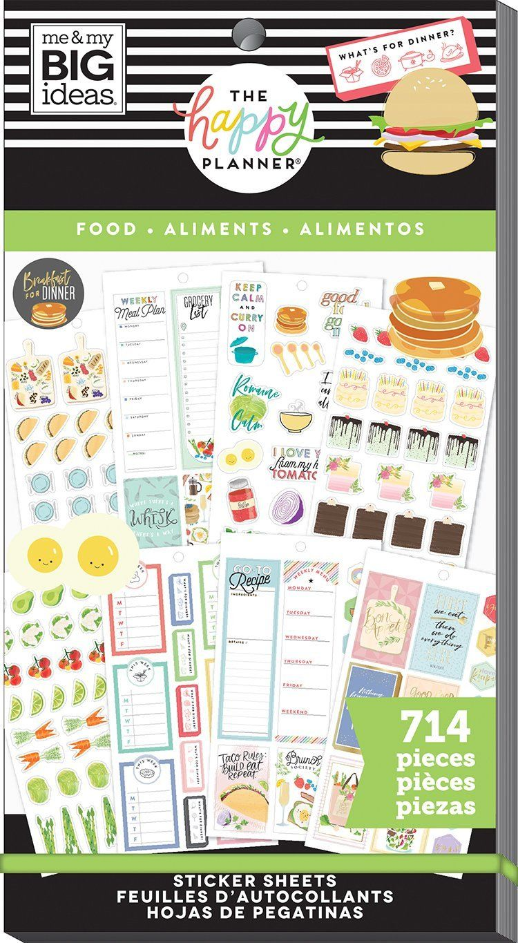 Value Pack Stickers - Yum