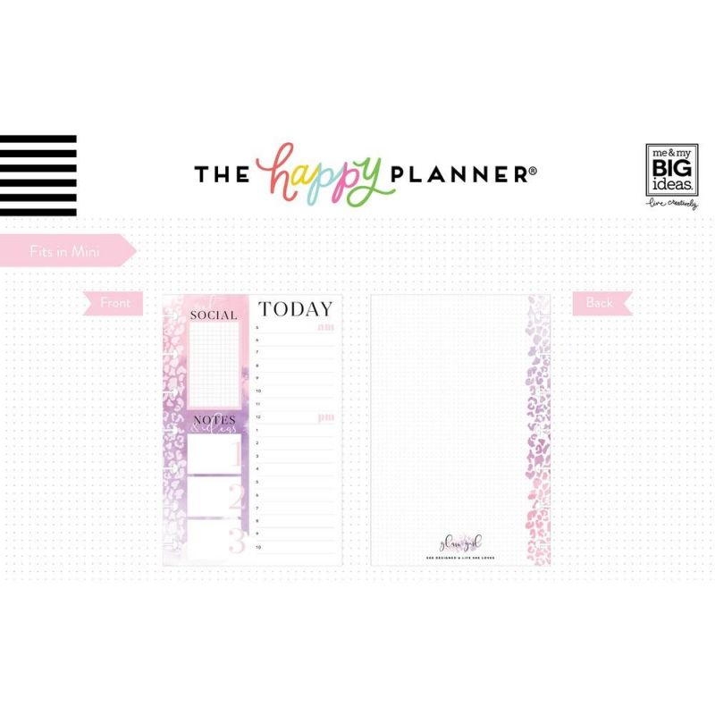 Mini Note Paper - Today - Glam Girl