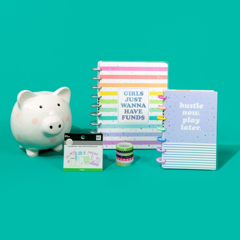 12 Months - Undated - Classic Happy Planner® - Budget