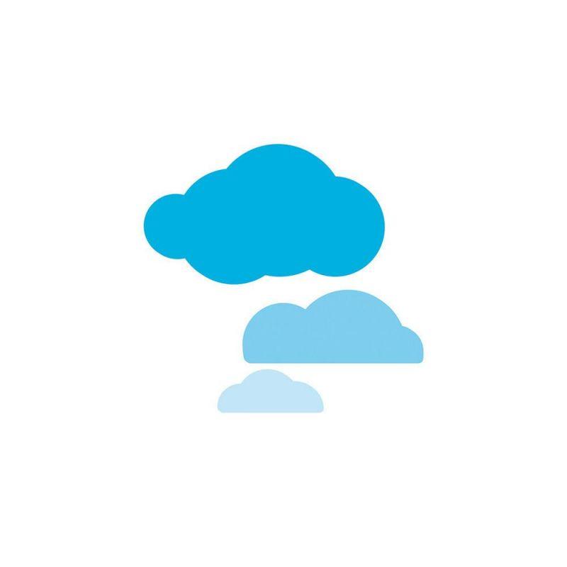 Tonic Studios - Rococo Petite - Layered Cloud Die Set - 1661e