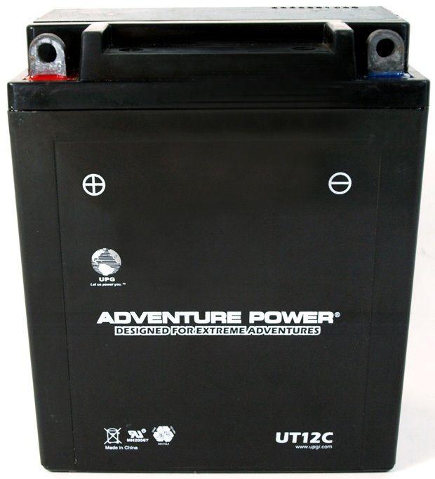 UPG Adventure Power Sealed Lead Acid: UT12C, 10 AH, 12V