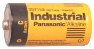 UPG Security Solutions Panasonic C Alkaline: AM2X, 12/72