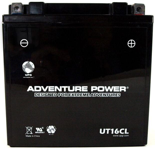 UPG Adventure Power Sealed Lead Acid: UT16CL, 19 AH, 12V