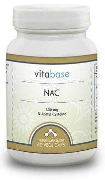 Vitabase NAC (N-Acetyl Cysteine) (600 Mg)