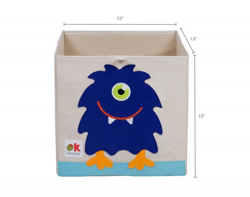 "Monster 13"" Storage Cube"