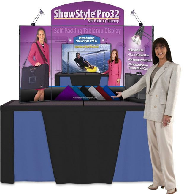 ShowStyle Pro32 Deluxe With Lights & Canvas Case: Purple Fabric
