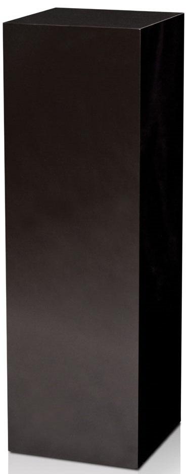 """Xylem High Gloss Black Acrylic Pedestal: Size 23"""" x 23"""""""