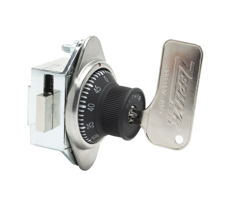Built-In Combination Lock Built In Combination Lock, With Vertical Dead Bolt For Doors With Hinge On Right