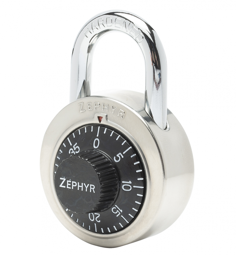 Combination Padlock With Control Key Override
